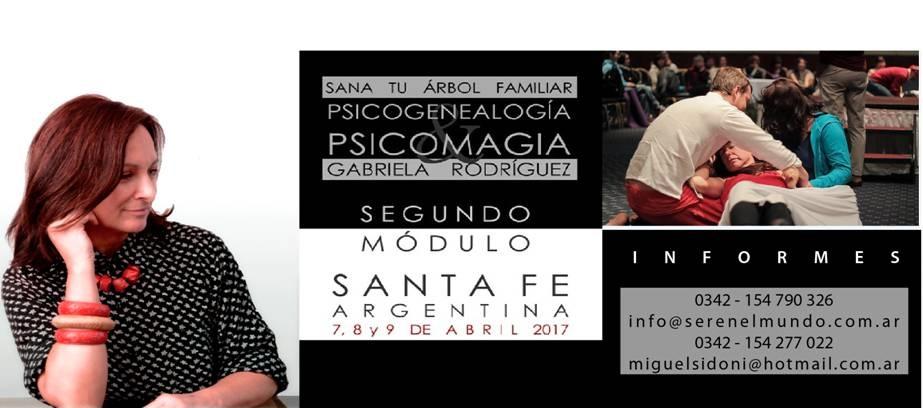 Psicogenealogía y Psicomagia en Santa Fe. Módulo 2