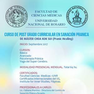 Posgrado en Sanación Pránica de MCKS con aval Universitario.